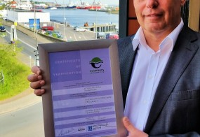 PERSBERICHT: Port of Den Helder ontvangt als tweede haven van Nederland Ecoport certificering