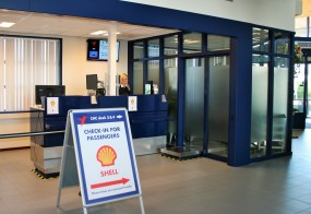 PRESS RELEASE Den Helder Airport to focus on short check-in times