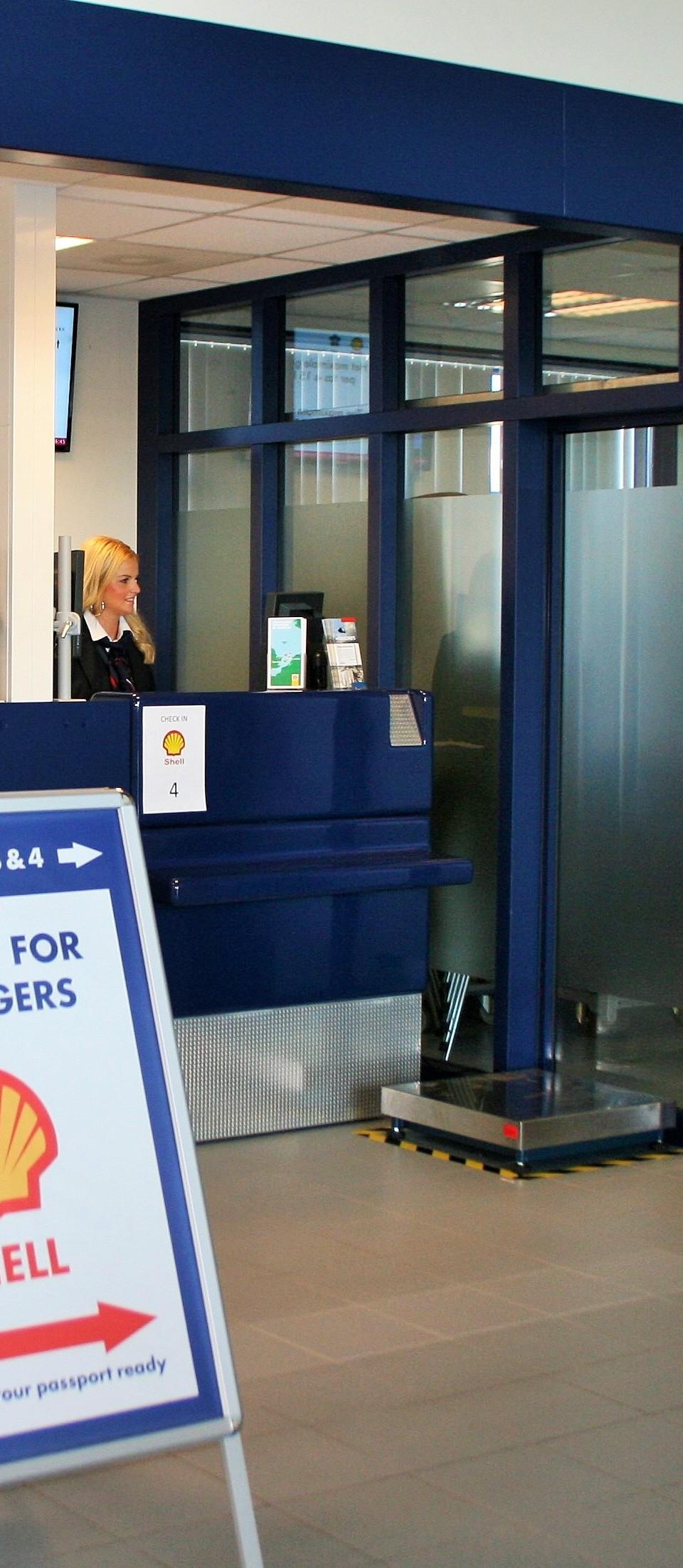 PERSBERICHT Den Helder Airport zet in op korte inchecktijden
