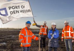 PERSBERICHT Industrieterrein Kooypunt IIIa bouwrijp overgedragen Port of Den Helder