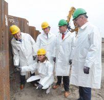 PERSBERICHT Kooyhaven in Kop van Noord-Holland verankert eerste damwand