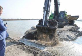 PERSBERICHT Kooyhaven vandaag officieel verbonden met Noord-Hollandskanaal