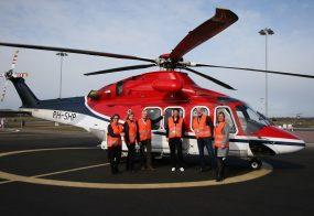 PERSBERICHT Den Helder Airport als basis voor nieuwe Europese samenwerking omtrent toekomstige offshore helikopteroperaties
