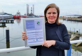 PERSBERICHT Port of Den Helder ontvangt Ecoport mileu-hercertificering van ESPO